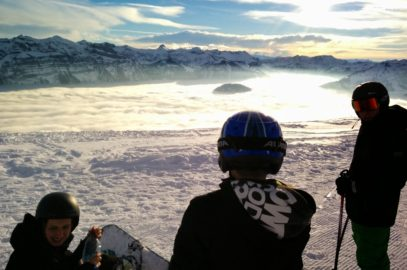 Skiausflug nach Bezau (Vorarlberg) im März 2016